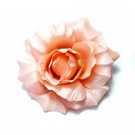 Růže květ maxi 21 cm - lososový