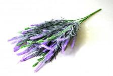 Levandule - umělá trs - fialová
