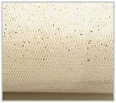 Tyl dekorační bílý s lurexem - 150cm /1m
