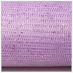 Tyl dekorační fialový s lurexem - 150cm /1m
