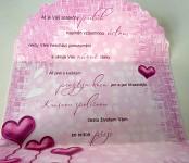 Blahopřání ke svatbě - N - mix motivů