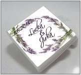 Čokoládka svatební mini - levandule