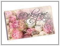Čokoládka svatební tabulka - záplava květů