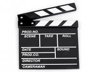Filmová klapka černá