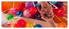 Balónky a helium