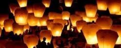 létající lampiony