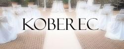 Svatební koberec - běhoun ke špalíru