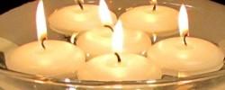 Svíčky plovoucí