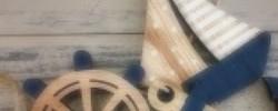 Mušle a mořské dekorace