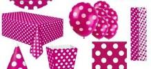 růžový puntík