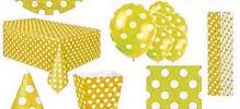 žlutý puntík
