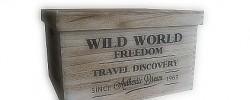 Dřevěné bedýnky a krabice